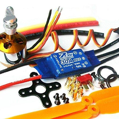 Pink Lizard XXD 2212 MotorZTW AL30A Brushless ESC1045 Propeller