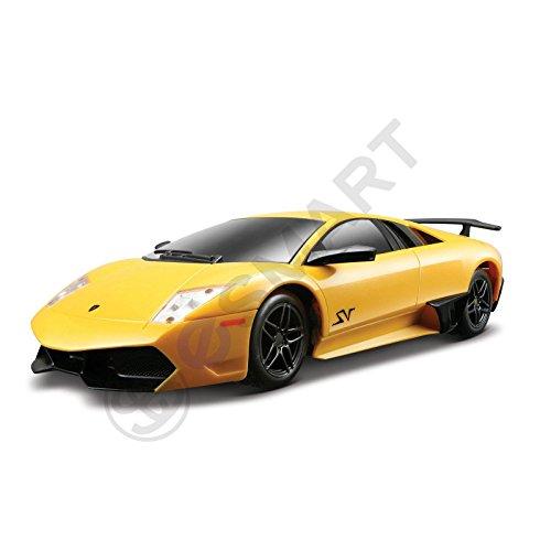 eSmart Yellow 124 Rastar Lamborghini Murcielago LP670 Metal Diecast Model