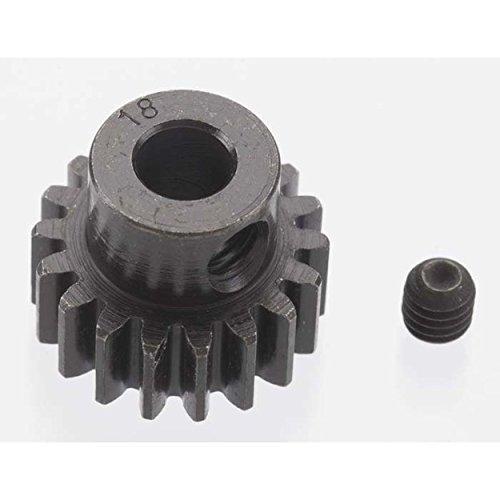 Robinson Racing 8618 Extra Hard 18 Tooth Blackened Steel 32P Pinion 5Mm