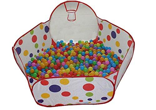 Kids Tent Style Folding Safe Ocean BallBeachCassia Seed Pool Play house12M