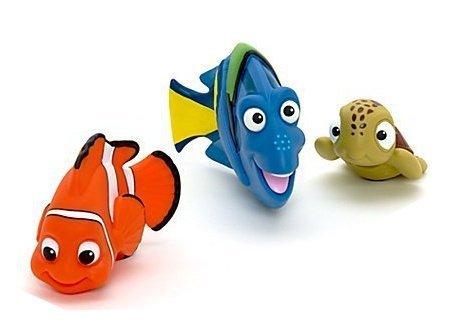 Sassy Products - Disney Nemo Dori Squirt Rubber Bath Toy Bundle by Disney