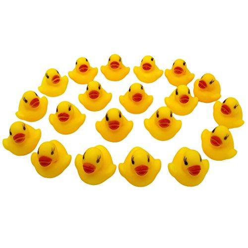 Multifit Baby Shower Floating Soft Rubber Duck Bathtub Singing Duck Set