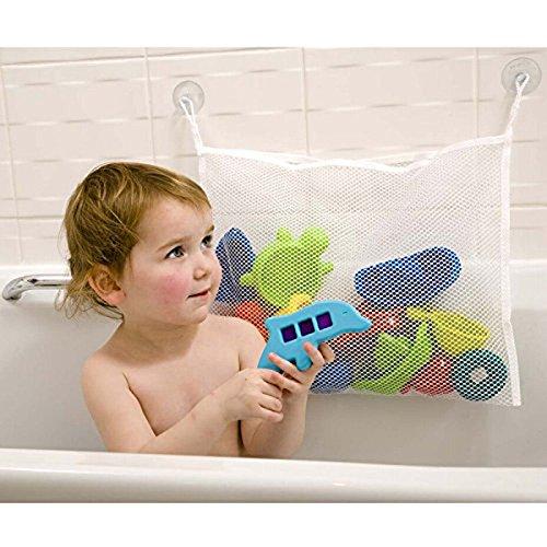 Edtoy Bath Toys Organizer Bathtub Toy Bags Baby Toys Mesh Storage Bag 3637cm