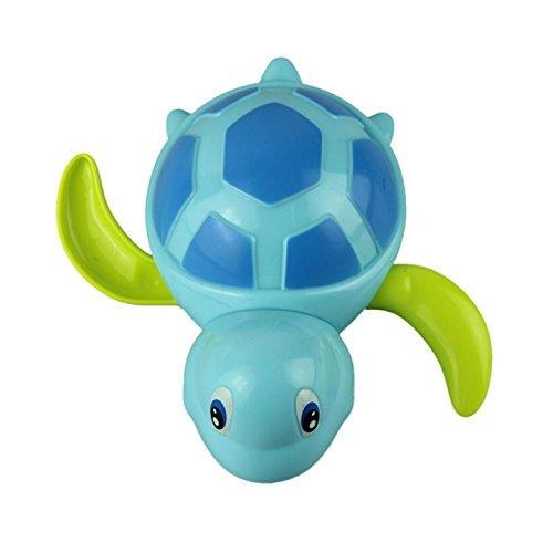 babies swim turtle wound-up chain small animal Baby Children bath toy