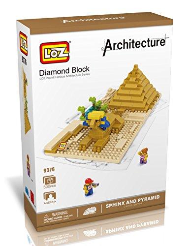 LOZ Diamond Block World Famous Architecture - Sphinx 9376