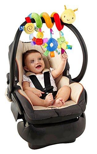 DiscoverMe8 Kid Baby Crib Cot Pram Hanging Rattles Spiral Stroller Car Seat Toy