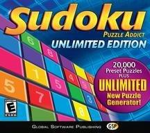 SUDOKU PUZZLE ADDICT UNLIMITED EDITION WIN 98ME2000XP