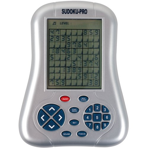 Sudo-Q-Mate Pro - One Million Sudoku Puzzles Handheld Game - As Seen On TV