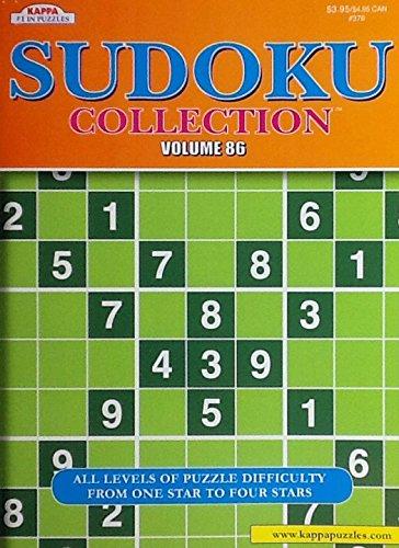 Sudoku Collection Puzzle Book Volume 86 ~ Including Kakuro Cross Sums