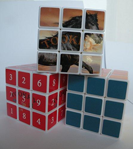 Sudoku Cube Magic Cube Puzzle Animal Magic-cube - 3 Speed cube bundle Brain Teaser Magicube - puzzle cubes for Adults Kids