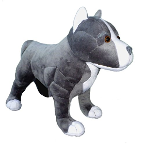 Adore 13 Standing Hope The Pit Bull Dog Stuffed Animal Plush Toy