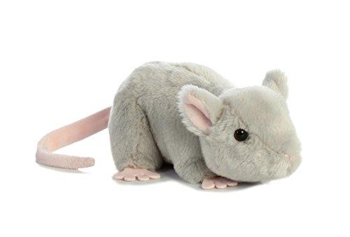 Aurora 31731 Mouse Stuffed Animal Plush Toy 8 Grey