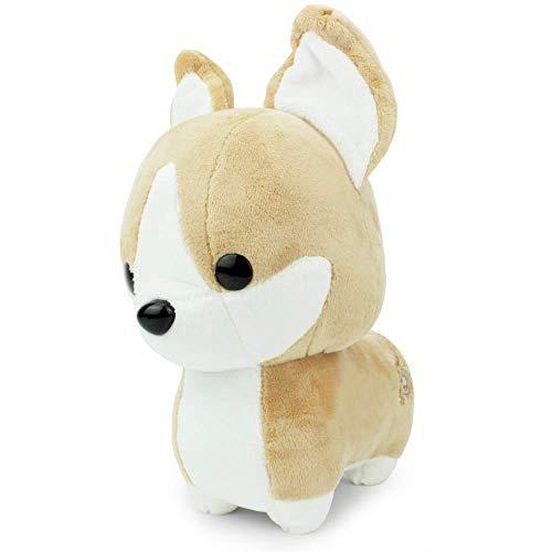 Bellzi Tan Corgi Cute Stuffed Animal Plush Toy - Adorable Soft Corgi Toy Plushies and Gifts - Perfect Present for Kids Babies Toddlers - Corgi