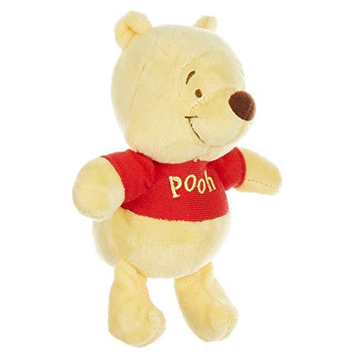 Disney Baby Winnie The Pooh Stuffed Animal Plush Toy Mini Jingler 5 inches