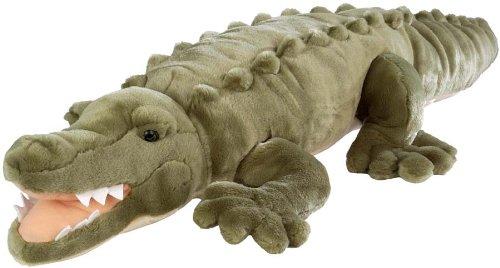 Wild Republic Jumbo Crocodile Giant Stuffed Animal Plush Toy Gifts for Kids 30