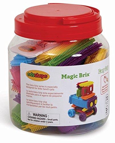 Edushape Magic Brix Building Set 72 Piece