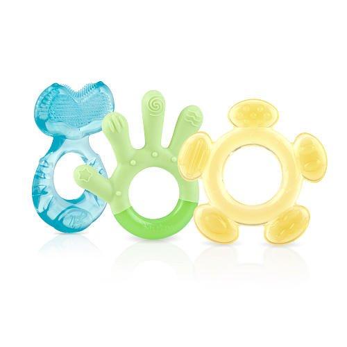 Nuby 3 Step Soothing Teether Set BPA Free - Boy
