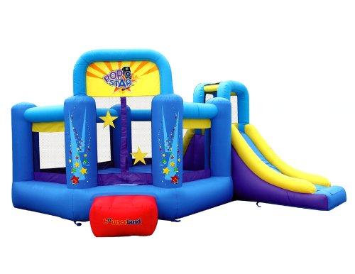 Bounceland Pop Star Inflatable Bounce House Bouncer