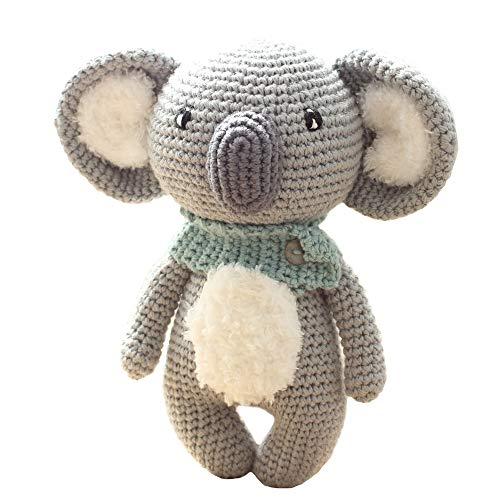 Stuffed Animal Toys - Handmade amigurumi Plaything - Christmas Gift - Present for Children - Nursery Decor Blue Koala