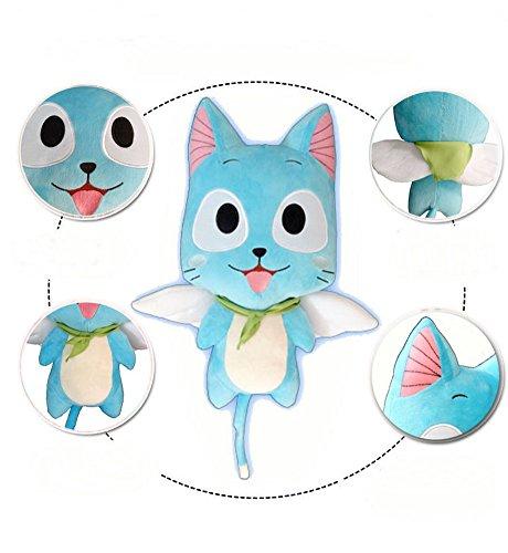 cosplaywho Fairy Tail Happy Plush Handmade Toy 12