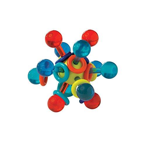Manhattan Toy Transparent Atom Teether Rattle Baby Toy