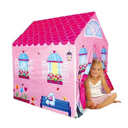Cottage Playhouse Girl City House Kids Secret Garden Pink Play Tent