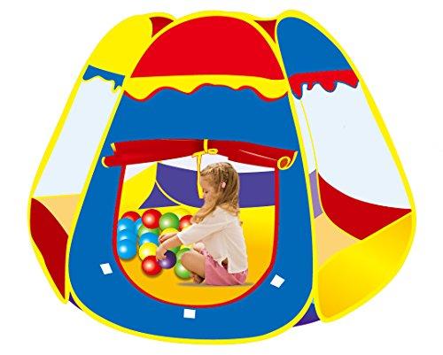Funny Tent Pop-Up Playhouse IndoorOutdoor Rainbow Playpen for Kids