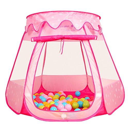 PortableFun Playhouse Ball Tent Toddler Toys