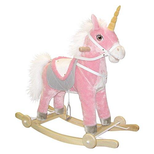 Charm Eunice Unicorn Rocking Horse with Sound