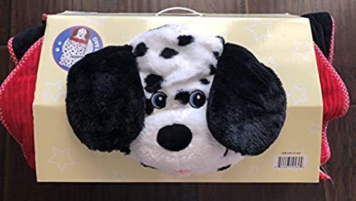 Hugfun Animal Slumber Bag Black White Doggy