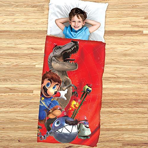 Super Mario Slumber Bag and Cozy Cover