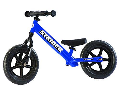 Strider - 12 Sport Balance Bike Ages 18 Months to 5 Years Blue