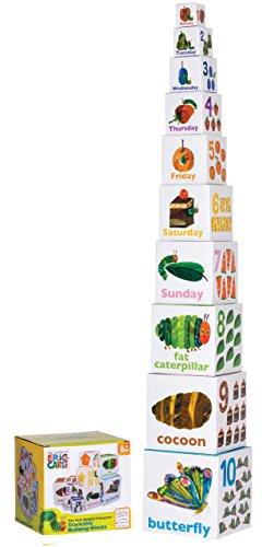 Kids Preferred World of Eric Carle The Very Hungry Caterpillar StackingNesting Blocks