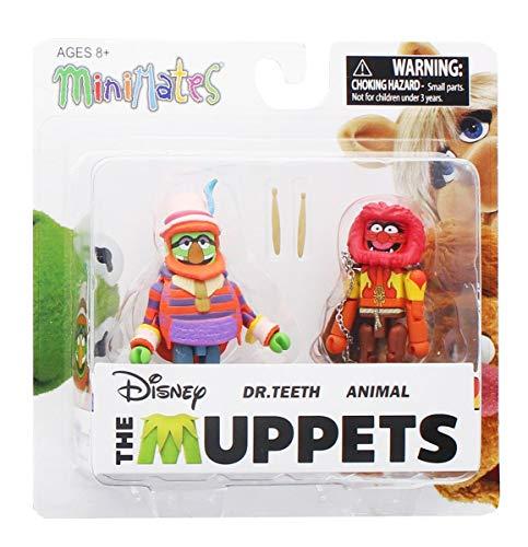 DIAMOND SELECT TOYS Muppets Minimates Series 2 Dr Teeth Animal Diamond Select