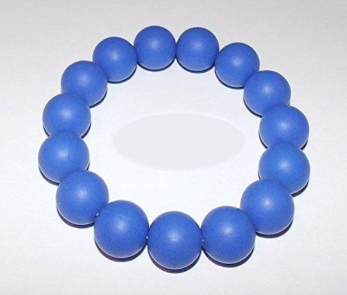 Chuchumz Chewy Bracelet Chewelry Autism ADHD Biting Sensory Child Baby Teething Chew Toy Children Blue by Chuchumz