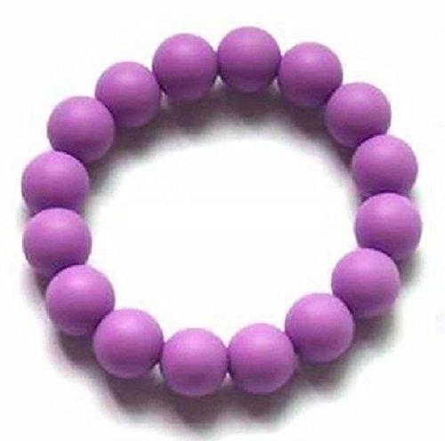 Chuchumz Chewy Bracelet Chewelry Autism ADHD Biting Sensory Child Baby Teething Chew Toy Children Purple by Chuchumz