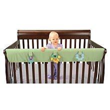 Leachco Easy Teether XL - Crib Rail Cover For Convertible Cribs - Sage by Leachco