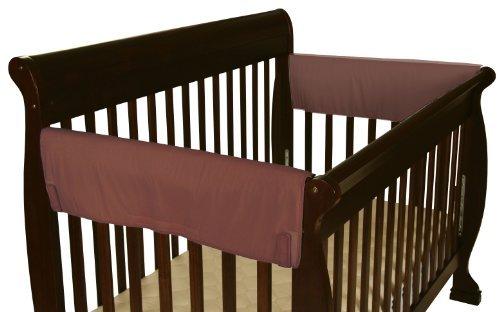 Leachco Easy Teether XL Side Crib Rail Cover 2 Pack Brown by Leachco