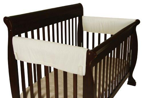 Leachco Easy Teether XL Side Crib Rail Cover 2 Pack Ivory by Leachco