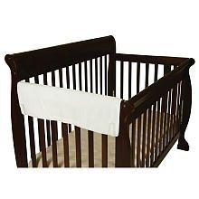 Leachco Easy Teether XL Side Crib Rail Cover White by Leachco