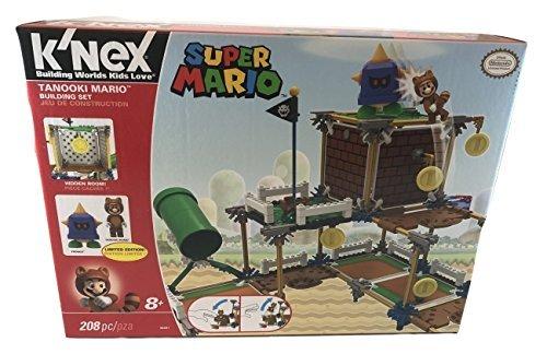 Knex 38461 Super Mario Tanooki Mario Building Set with Limited Edition Tanooki Mario