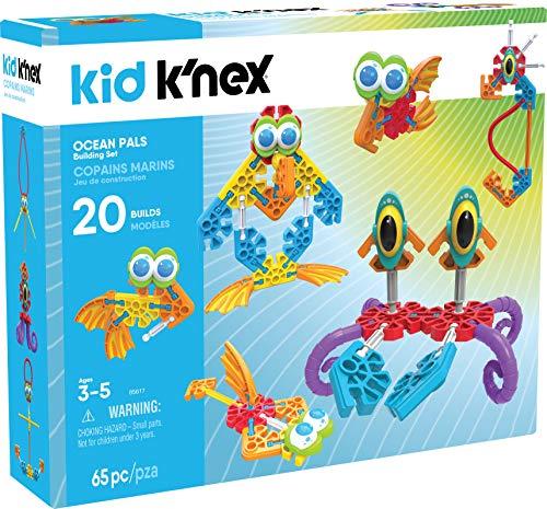 Knex Kid Ocean Pals Building Set - 65Piece - Ages 3 Up Preschool Educational Toy Building Set