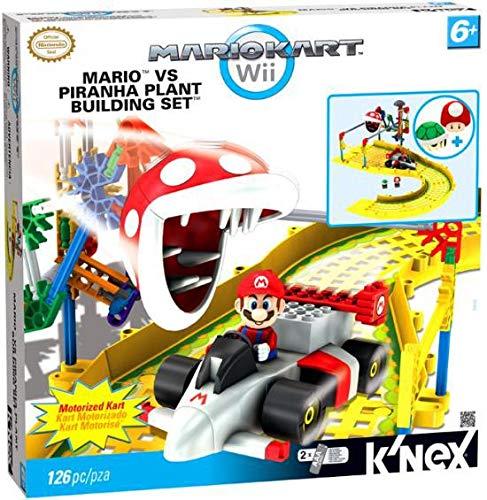 Nintendo Mario Kart Wii KNEX Building Set 38468 Mario vs Piranha Plant
