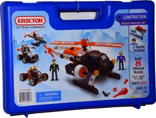 Erector Construction Police Rescue Set