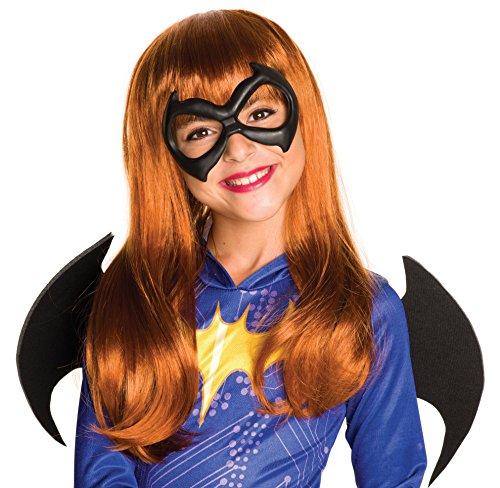 Rubies Costume Girls DC Super Hero Batgirl Wig