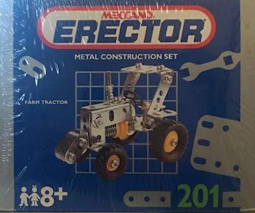 Erector Meccano Metal Construction Set - Farm Tractor