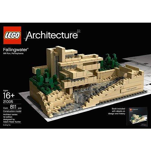 10 Fallingwater Model Building Set 811 Pieces