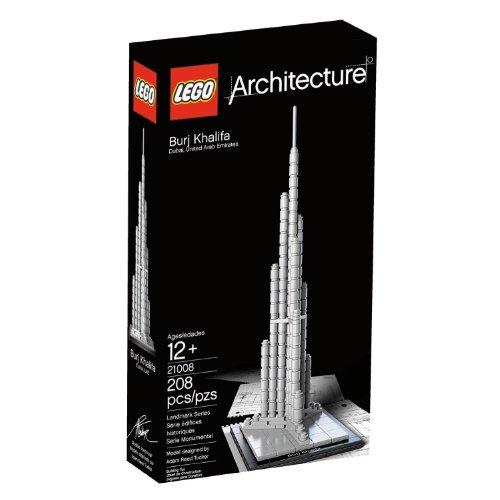 16 Burj Khalifa Model Building Set 208 Pieces