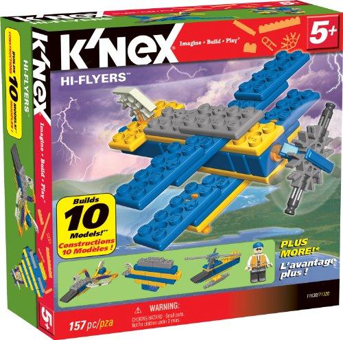 KNEX Hi-Flyers 10 Model Building Set