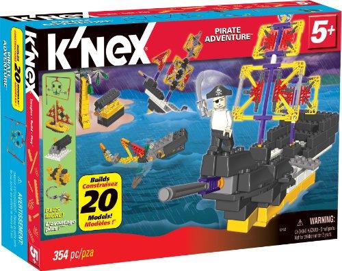 KNEX Pirate Adventure 20 Model Building Set